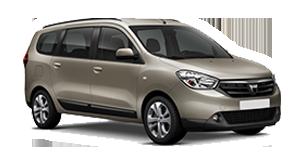 Dacia Lodgy rent a car